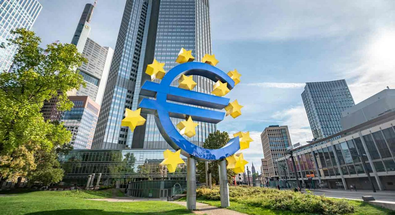 Modificación. Imagen del Banco Central Europeo