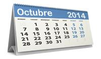 Calendario fiscal octubre 2014