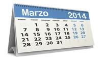 Calendario fiscal marzo 2014