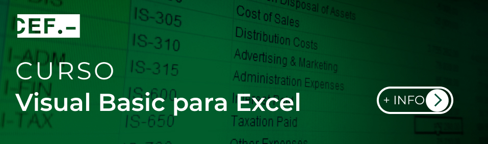 Curso de Visual Basic para Excel