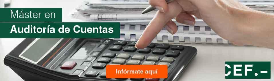 Máster en Auditoría de Cuentas