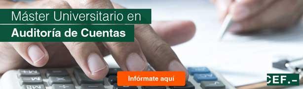 Máster Universitario en Auditoría de Cuentas