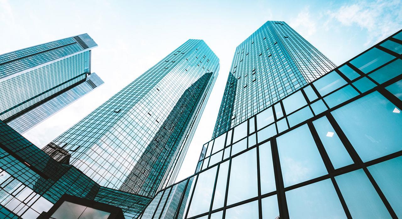 Negocios. Imagen de rascacielos modernos